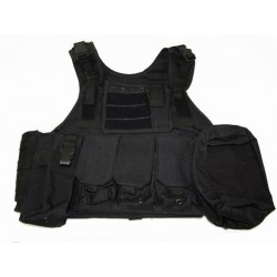 Chaleco Plate carrier negro