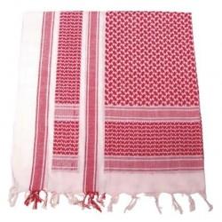 Pañuelo palestino rojo-blanco