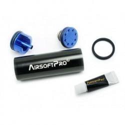 airsoftpro set cilindro gear box cañones largos