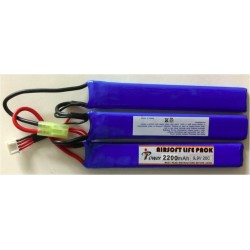IPower LIFe 2200mAh 9.9V 20C 3 elementos