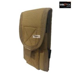 OSLOTEX Pouch Porta Móvil Coyote 1000D