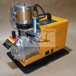 Compresor pcp Digital con parada Automática 110/220v para PCP 300 Bar